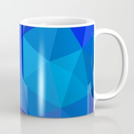 Sapphire Low Poly Coffee Mug