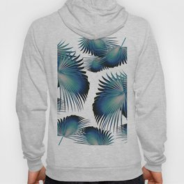 Fan Palm Leaves Paradise #1 #tropical #decor #art #society6 Hoody