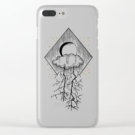 Bolt of lightning Clear iPhone Case