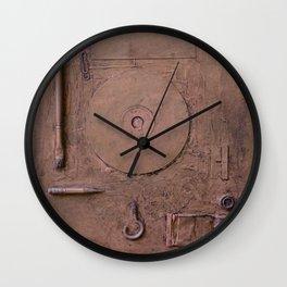 Informel Nostalgia in Post Art Vacuum Wall Clock
