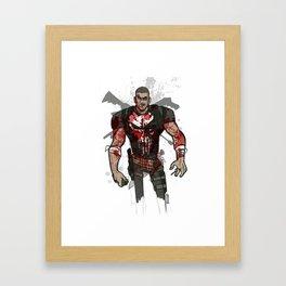 Frank Castle Framed Art Print