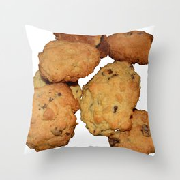 home made cookies Throw Pillow