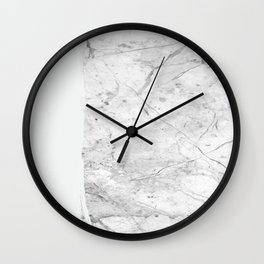 Milk On Marble Wall Clock