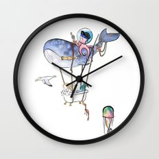 On Adventure! Wall Clock