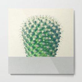 Cactus Dip Metal Print