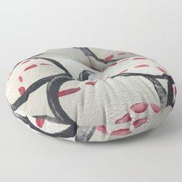 Baseball Season - Body Paint Floor Pillow