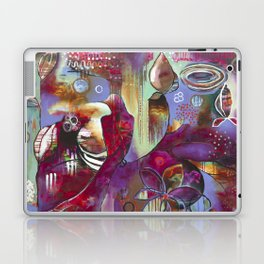 """Manifest"" Original Painting by Flora Bowley Laptop & iPad Skin"