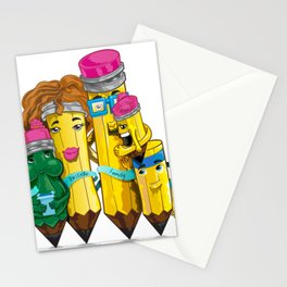 Pastelle Family Stationery Cards