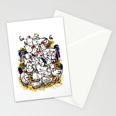 Chicken & peeps Stationery Cards