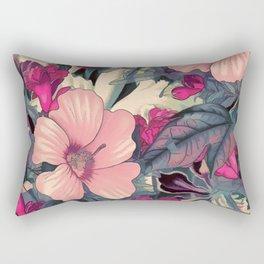 flowers 28 #flora #flowers #pattern Rectangular Pillow