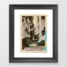 Life In... Framed Art Print