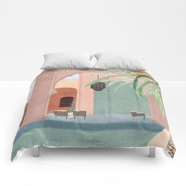 Moroccan Pool Comforters