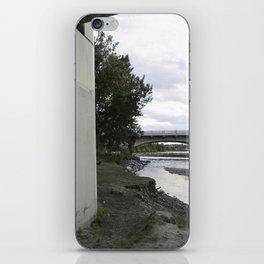 River + chalk iPhone Skin