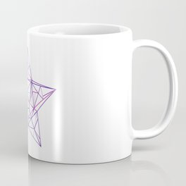 Purple Geometric Star Coffee Mug