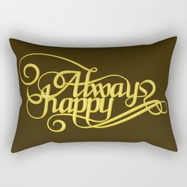 Stay Happy Rectangular Pillow