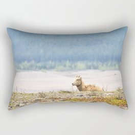 Little Boy Blue Rectangular Pillow