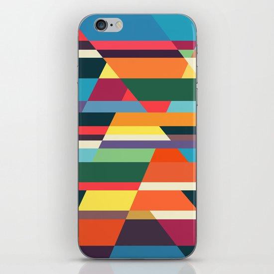 The hills run to infinity iPhone & iPod Skin