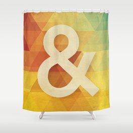 Avant Garde Ampersand Shower Curtain