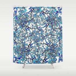 Modern Nouveau Pattern Shower Curtain