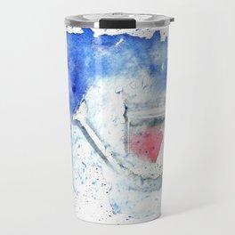 Splash hearted Watering Can - Watercolor painting Travel Mug