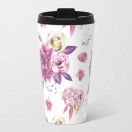 Succulent Rose Travel Mug