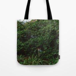 Hawaiian Cat Tote Bag
