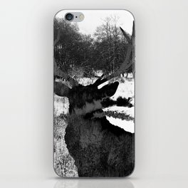 Stag in the Shadows iPhone Skin