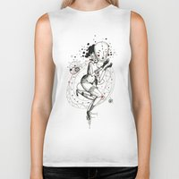 carnival Biker Tanks featuring Carnival by Ianah Maia