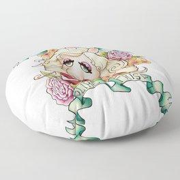 Miss Piggy - I woke up like this Floor Pillow