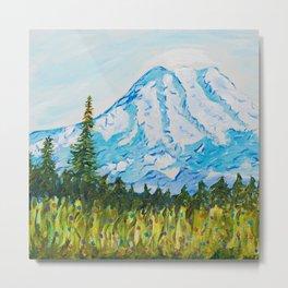 Mt. Rainier Washington Metal Print