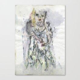 THE GIRL Canvas Print