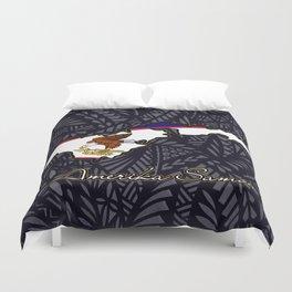 Amerika Samoa Duvet Cover