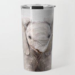 Baby Elephant - Colorful Travel Mug