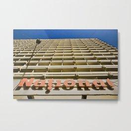 National Hotel Metal Print