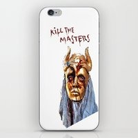 khaleesi iPhone & iPod Skins featuring KILL THE MASTERS by rowans