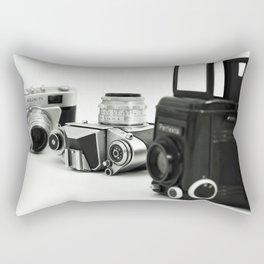 cameras Rectangular Pillow