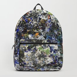 Made by Hand (oil on canvas) Backpack