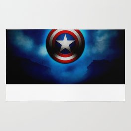 Captain Shield - Steve Roger Rug