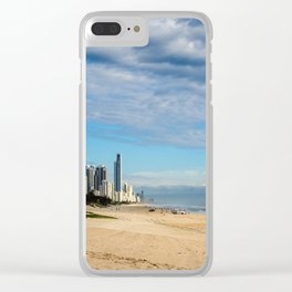 Broadbeach To Surfers Paradise Clear iPhone Case