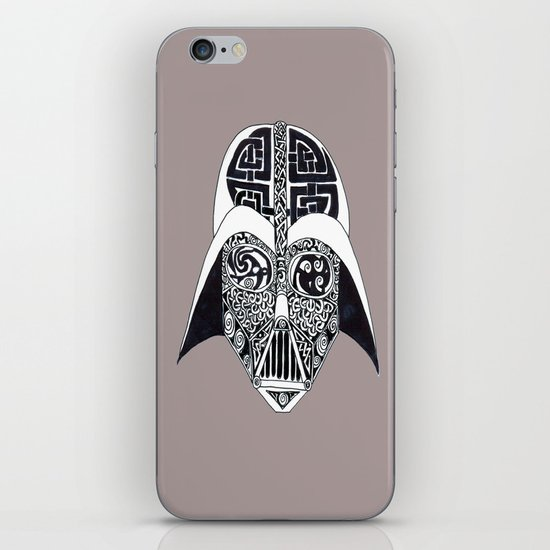 Celtic Vader iPhone & iPod Skin