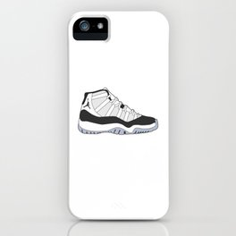 Jordan 11 - Concord iPhone Case