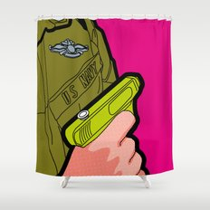 Pop Icon - War Machine Shower Curtain