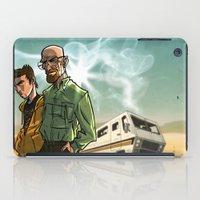 breaking bad iPad Cases featuring Breaking Bad by Adrien ADN Noterdaem