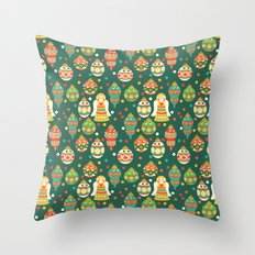 Trim The Christmas Tree Throw Pillow