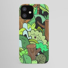 Forest Frenzy iPhone Case