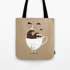 Brainstorming Coffee Tote Bag
