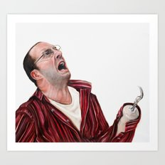 Arrested Development Buster Bluth Art Print