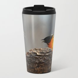 Baltimore Orioles - A Dysfunctional Family - A Nature Art Print Travel Mug