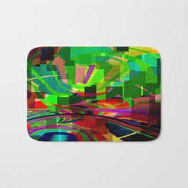 Panzini Abstract Design - 01 Bath Mat