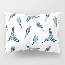 wave parrots pattern Pillow Sham
